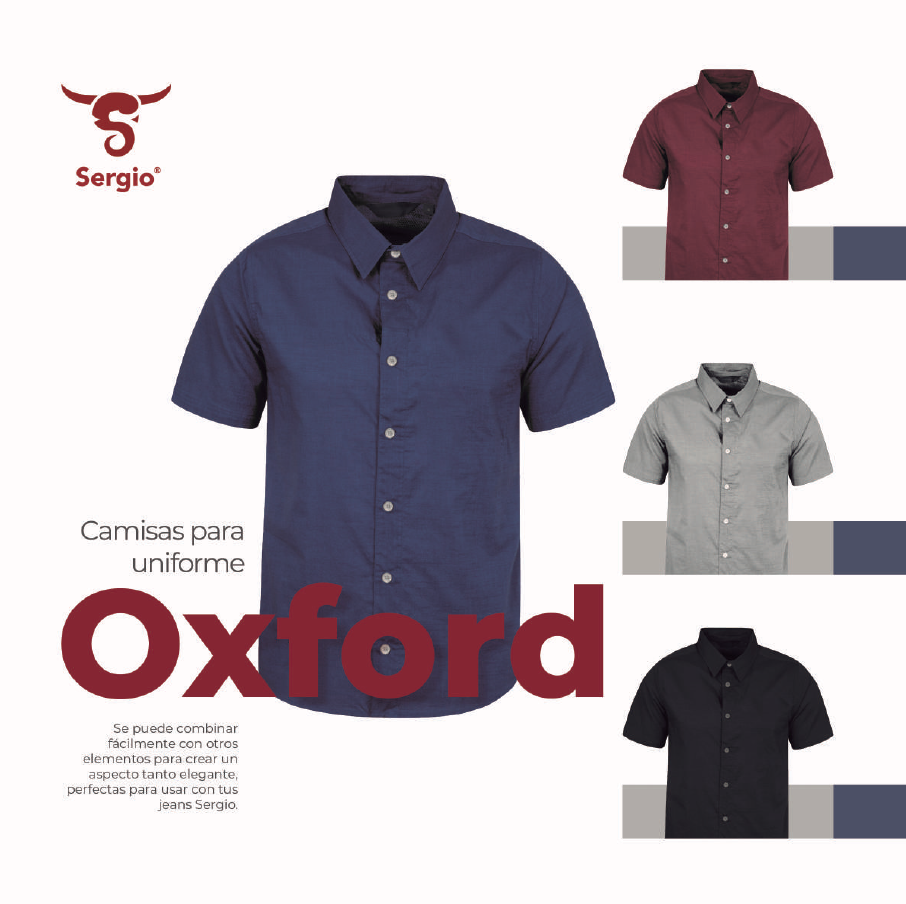 Camisa tipo Oxford